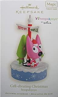 Hallmark Keepsake Ornament Hoops and YoYo Cell-ebrating Christmas 2008