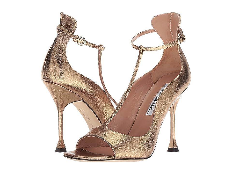 Brian Atwood Samantha (Bronze Metallic Nappa) Women