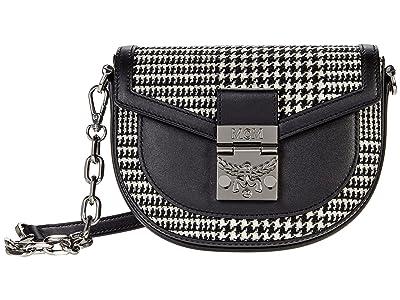 MCM Patricia Leather Mix Belt Bag Mini