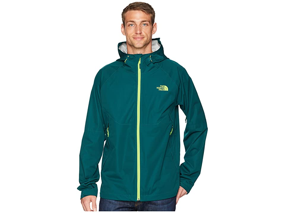 The North Face Allproof Stretch Jacket (Botanical Garden Green) Men