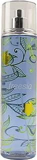 Bath and Body Works Fine Fragrance Mist Freesia Newer Blue Packaging 8 Ounce Full Size Spray