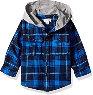 Gymboree Baby Boys Hooded Woven Shirt