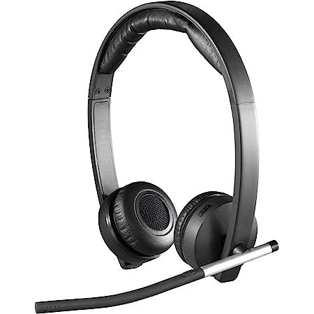 Logitech H820e Wireless Dual Headset - Black