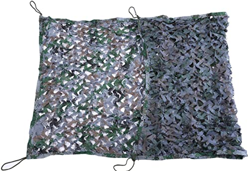 WNpb Filet de Camouflage, Filet de Camouflage Anti-aérien, Décoration de Montagne Vert Camouflage Filet de Prougeection Solaire Filet Nouveau, Soirée à Thème