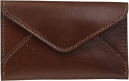 Flat Leather Business Card Case