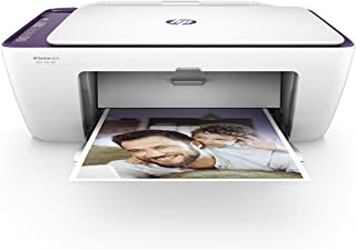 HP DeskJet 2634 - Impresora multifunción de tinta (Compatible con HP instant Ink, Wi-Fi, Incluye un Cartucho Negro y un Cartucho Tricolor, 512 MB DDR3, LCD de 7 segmentos, A4) Color Blanco y Morado