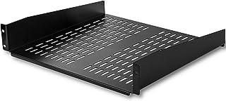 "StarTech.com 2U Server Rack Shelf - Universal Vented Cantilever Tray for 19"" Network Equipment Rack & Cabinet - Heavy Duty..."