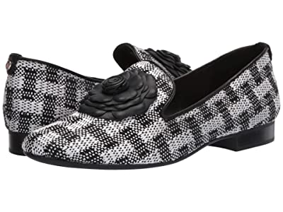 Taryn Rose Brigitta (Black/White Picnic Woven) Women