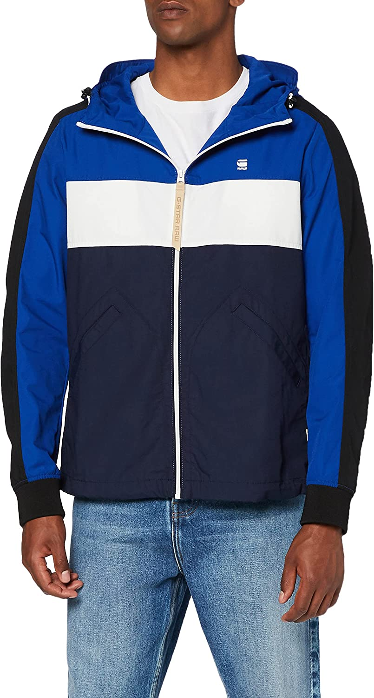 G-Star Men's Setscale Jacket, Blue