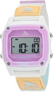 Freestyle Shark Japanese-Quartz Sport Watch with Nylon Strap, White, 20 (Model: 10026835)