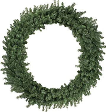 Northlight Canadian Pine Artificial Christmas Wreath - 5ft, Unlit