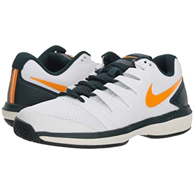 Nike Air Zoom Prestige (White/Orange Peel/Midnight Spruce) Women