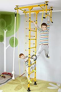 SCALETTA svedese sport palestra muro BARRE KID PARCO GIOCHI BABY PLAY HOME Arrampicata Toys
