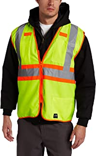 Key Industries Men's Big and Tall Big & Tall Ansi Class Ii High Visibility Sold Vest