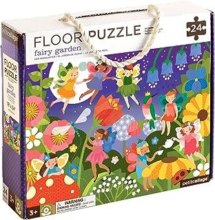 Petit Collage Floor Puzzle, Fairy Garden