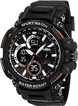 V2A Analogue - Digital Black Dial Men's Watch