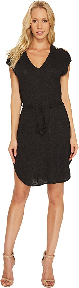 Lanston - Shoulder Cut Out Dress