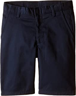 Nautica Kids Flat Front Twill Shorts (Little Kids/Big Kids)