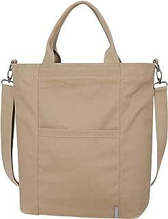 Iswee Women Canvas Shoulder Tote Bag Large Casual Handbags Work Bag Shopping Travel bag Crossbody