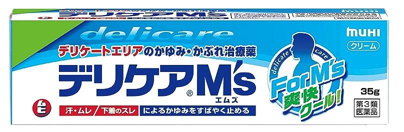 広範囲役に立つ思慮のない【第3類医薬品】デリケアM's 35g