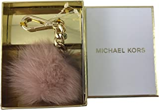 michael kors puff ball keychain