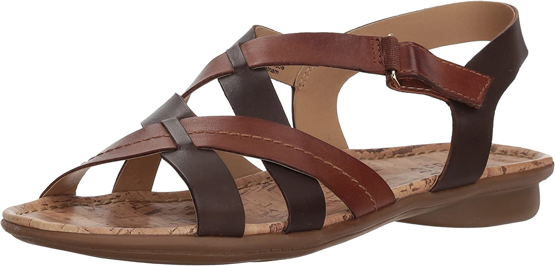 Naturalizer Womens Wyla Flat Sandal