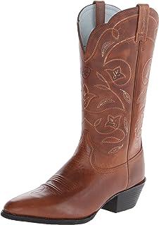 حذاء رعاة البقر الغربية ذو الرقبة الدائرية للنساء من Ariat