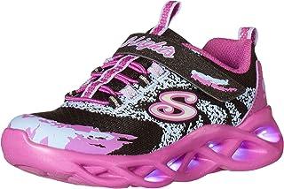 Skechers Girl's, S Lights: Twisty Brights Sneaker - Little Kid