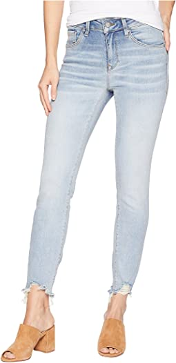 Tess High-Rise Super Skinny in Light Ripped 80s Vintage
