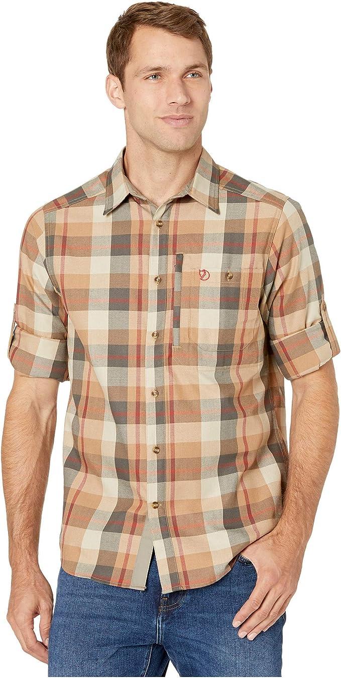 Fjallraven Mens Fj/ällglim Shirt M Long Sleeves Long Sleeved T-Shirt