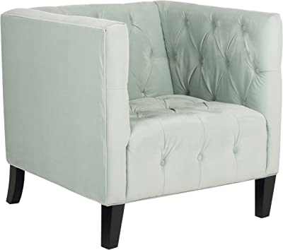 Safavieh Mercer Collection Glen Club Chair, Light Blue