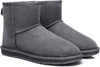 UGG Classic Ankle Boots for Women's Men's Uggs Snow Boot Water Resistant Black Grey Chestnut Chocolate Shoes