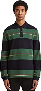 Men's Enlarged Stripe Pique Shirt