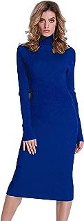 Best royal blue sweater dress Reviews