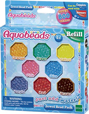 Aquabeads Autre Perles Multi-Facettes, 79178, Multicolore, Norme