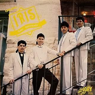 Grupo IRIS Amor Equivocado: Te Extrano; Tu Despedida; Vagabundo; Solo Una Vez; Borracho; Rosas Rojas; Disculpame; Te Vas De MI (1990 Vinyl Record)