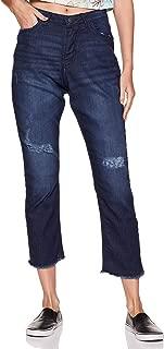 ABOF Women's Straight Fit Jeans