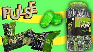 Pulse Candy (125 Pcs Per Jar) Pass Pass Sensational Kacchaa Aam (Mango) Flavor Candy - Tangy Twist Flavour