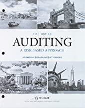 Bundle: Auditing: A Risk Based-Approach to Conducting a Quality Audit, Loose-leaf Version, 11th + MindTap Accounting, 1 term (6 months) Printed Access Card