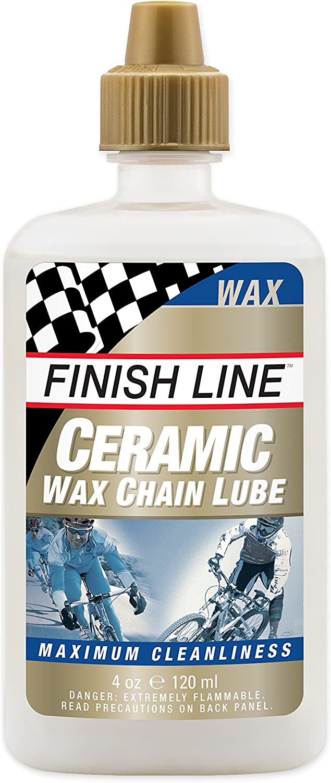 Finish Line Ceramic Wax Bicycle Chain Lube