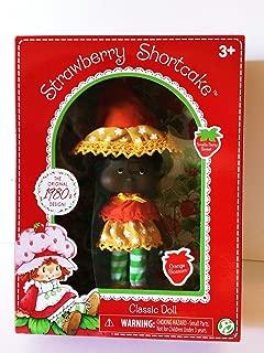 HappyPierrot Nib Strawberry Shortcake Orange Blossom Classic Doll 1980s Retro Vintage Design