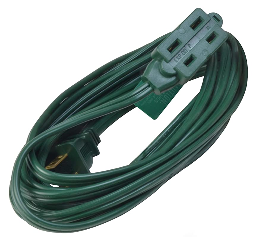 下手フォルダアレイWoods 870 15-Foot 16/2-Gauge Indoor Extension Cord, Green by Woods