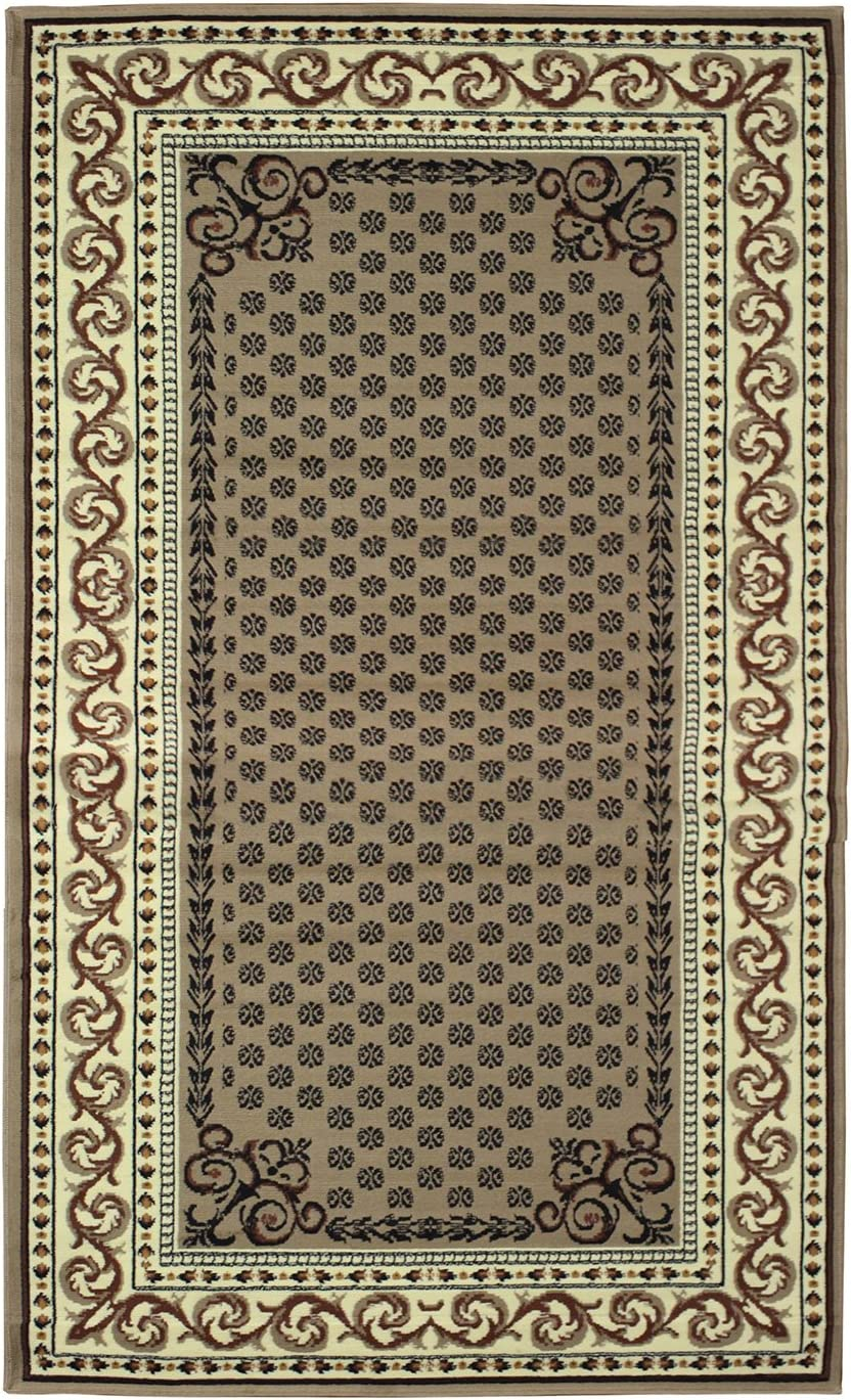 SUPERIOR Longfield Limited Special Price Collection 5X8 Multi Rug- Genuine Free Shipping Area Color