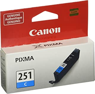 Canon CLI-251 Cyan Ink Tank Compatible to MG6320 , IP7220 & MG5420, MX922, MG5520, MG6420, MG7120, iX6820, iP8720, MG7520,...