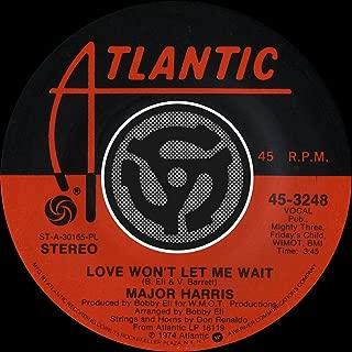 Love Won't Let Me Wait / After Loving You [Digital 45]