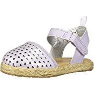 Kids Georgette Girl's Closed Toe Espadrille Sandal Wedge