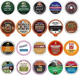 Custom Variety Pack Coffee Sampler for Keurig K-Cup Brewers, 20 Count