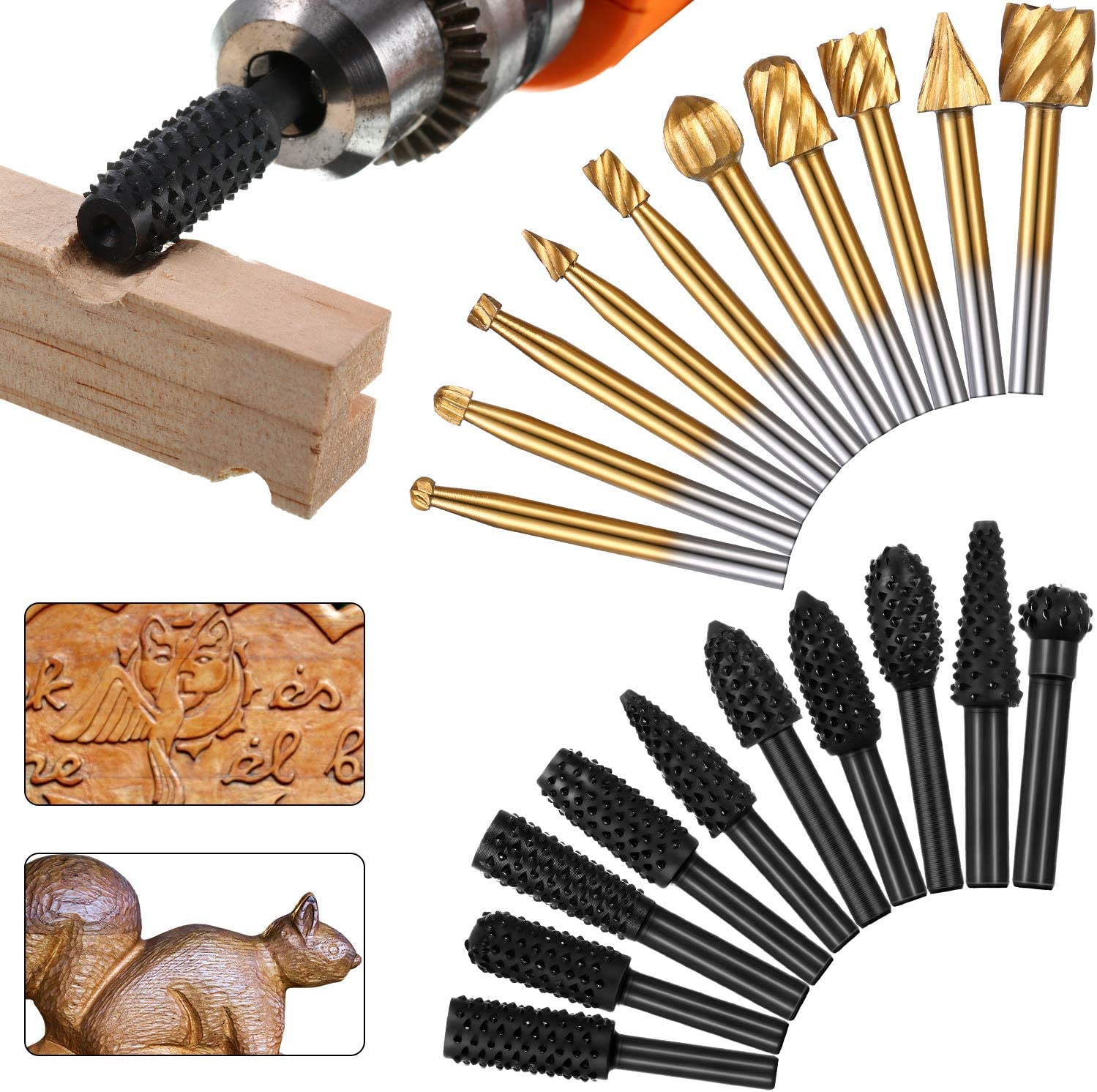 10 Pieces Woodworking Max 50% OFF Drill Bits High Rasp with Ranking TOP12 Speed Bit