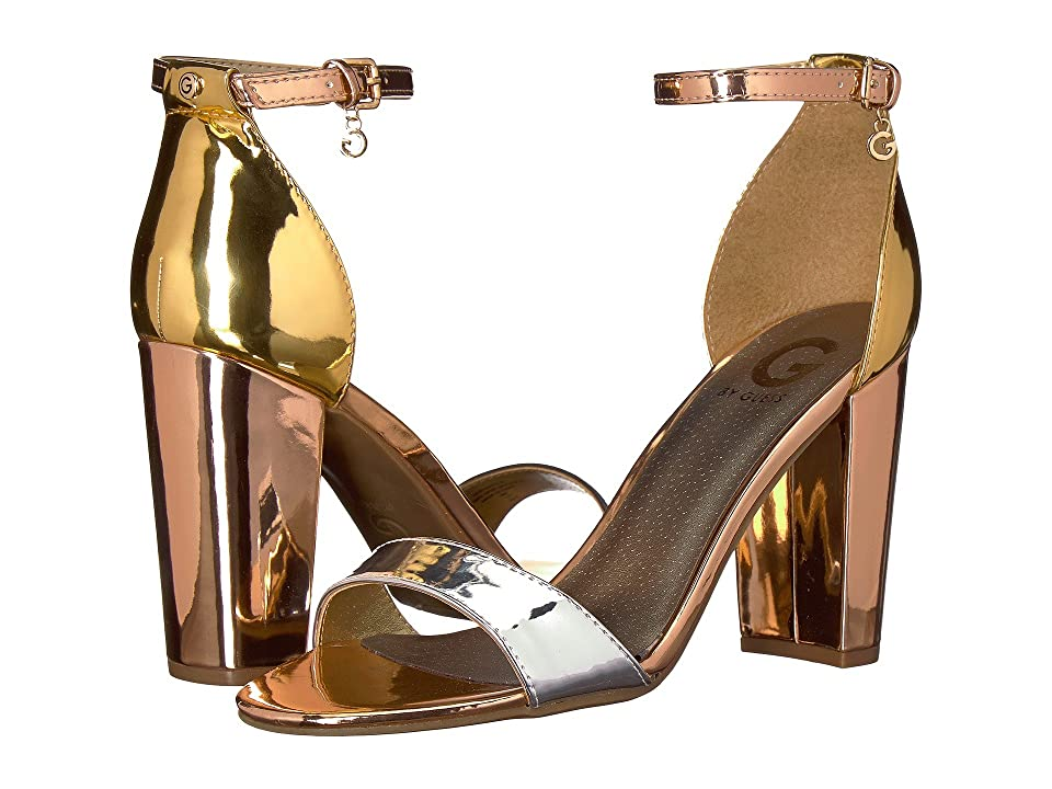 3377166e6 G by GUESS Shantel9 (Oro/Argento/Rose Gold) Women's Shoes - 4316020_8_5_M  by G by GUESS
