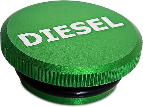 2021 Diesel Fuel Cap - Billet Tank Gas Cap for 13-19 Dodge Ram 1500 2500 2021 3500 Cummins EcoDiesel Pick-up online sale Truck Accessories - Best for Genuine OEM Parts Replacement Eco Tanks Caps - Magnetic Aluminum Green outlet sale